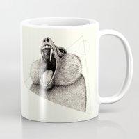 wildlife Mugs featuring 'Wildlife Analysis III' by Alex G Griffiths