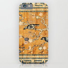 Suiyuan Province Chinese Pictorial Rug Print iPhone Case