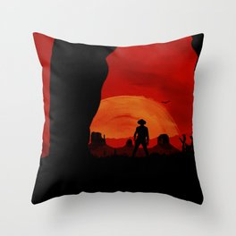"""Redemption Is Dead"" Throw Pillow"