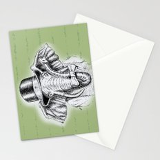 I'm too SASSY for my hat! Vintage Elephant. Stationery Cards
