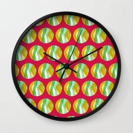 Seaweed Circle 03 Wall Clock