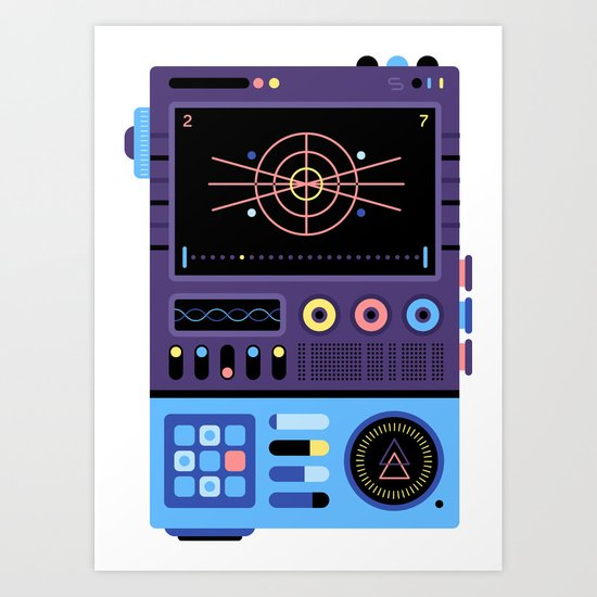 Device from another world #1 Art Print