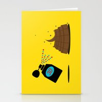 3d Stationery Cards featuring 3D by Viktor Hertz