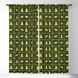 Frogs pattern Blackout Curtain