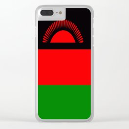 Flag of Malawi Clear iPhone Case
