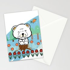 Chow Chow in the forest Stationery Cards
