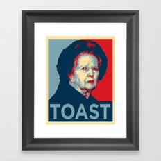 TOAST Framed Art Print