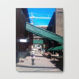Distillery District - Public Space Metal Print