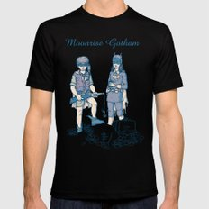 Moonrise Gotham MEDIUM Black Mens Fitted Tee