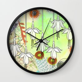 Fab Fuschia Wall Clock