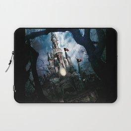 Dark Disney castle Laptop Sleeve