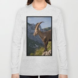 Capricorn in the Alps Long Sleeve T-shirt
