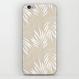 Ash Tree Leaves Scandinavian Pattern iPhone Skin