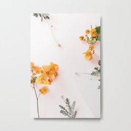 Bougainvillea Blooms Metal Print