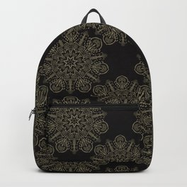 Floral Boho Arabesque Mandalas Backpack