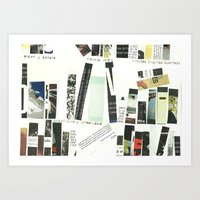 library Art Prints featuring library by Willy Ollero