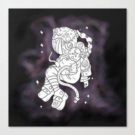 Odd Space Canvas Print