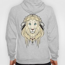 Tribal Lion - White Hoody
