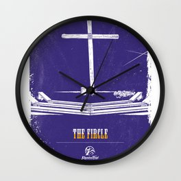 The Fircle - Home At Last Wall Clock