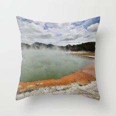 Thermal Pool Throw Pillow