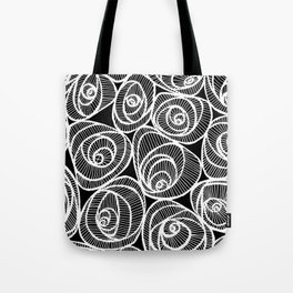 Midnight Roses Tote Bag