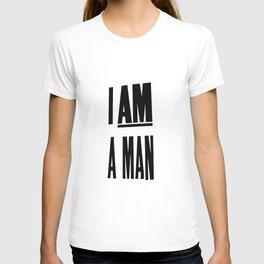 I AM A MAN (MEM '68) T-shirt