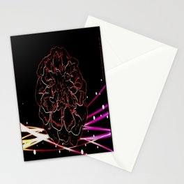 Floral Electrons Stationery Cards
