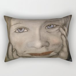 girl Rectangular Pillow