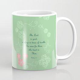 Nahum  1:7 Coffee Mug