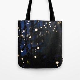 Tree Lights Tote Bag