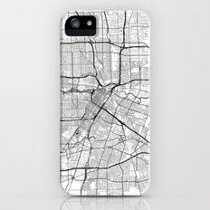 Houston Map Gray Slim Case iPhone (5, 5s)