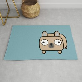 French Bulldog Loaf - Fawn Frenchie Rug