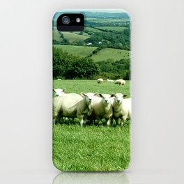 Flock of friends iPhone Case