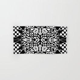 Chess Pieces Geometric Ornament Hand & Bath Towel