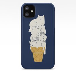 Meowlting iPhone Case