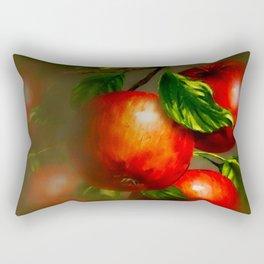 JUICY APPLES Rectangular Pillow
