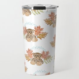Autumn Bears Travel Mug
