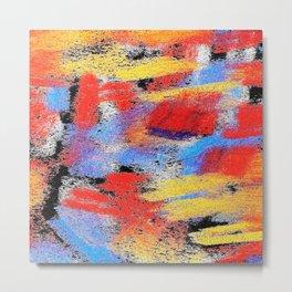 Multicolor pp ing Metal Print