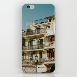The roofs of Zakynthos iPhone Skin