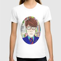 rushmore T-shirts featuring I Saved Latin, What Did You Ever Do? - Rushmore by Lovemaltine