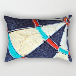 Dartboard Rectangular Pillow