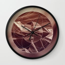 Secret in the canyon Wall Clock