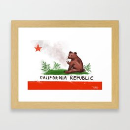 Smokey Bear Framed Art Print