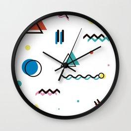 Houston 1990 Wall Clock