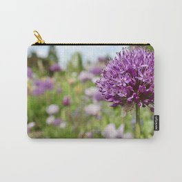 Monet's Positively Purple Flower Carry-All Pouch