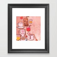 Drinks Framed Art Print