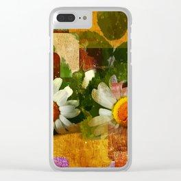 Kamillenblüten Clear iPhone Case