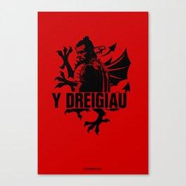 Euro 2016: Wales Canvas Print