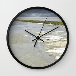 slightly frozen Wall Clock