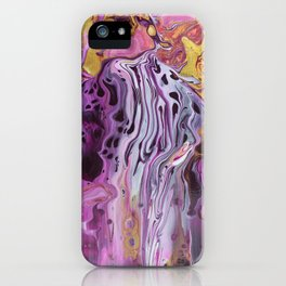 Violet Infusion iPhone Case